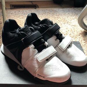 RARE Black and White Reebok Legacy Lifters